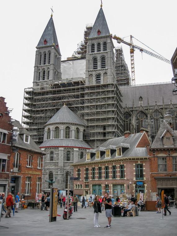 Une partie de la cathédrale