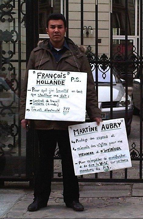 chauffeur de François Hollade Ps...