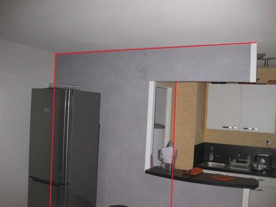 aide finition apr s suppression cloison cuisine bricolage forum vie pratique. Black Bedroom Furniture Sets. Home Design Ideas