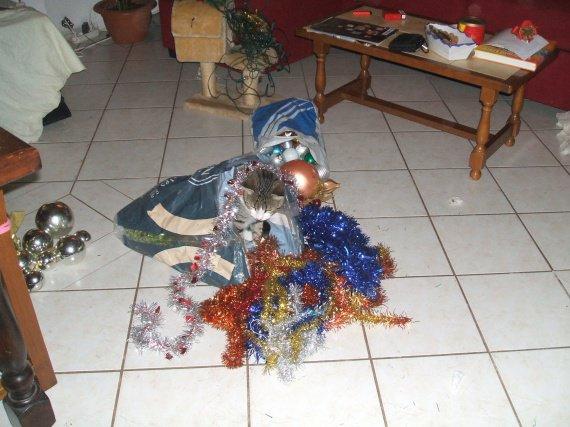 Scoubidou préparant Noël