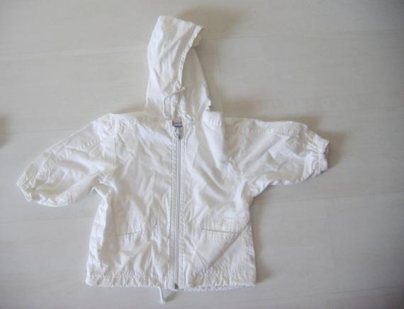 Manteau Léger Blanc Tiboudou 18 mois