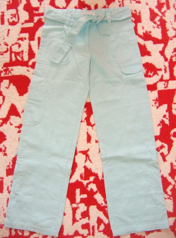 Pantalon NEUF Turquoise LA REDOUTE 10 ans-138cm