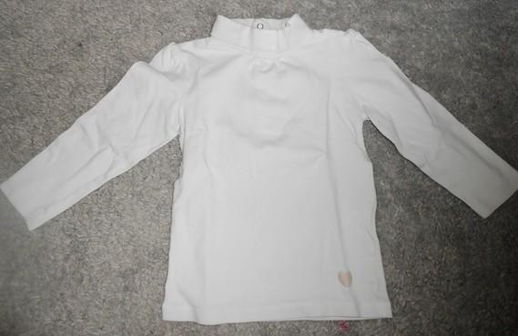 Polo blanc 24 mois 2€