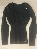 Pull MORGAN Taille XS noir Comme Neuf 20€