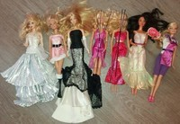 5 Barbie Collection Prix variés