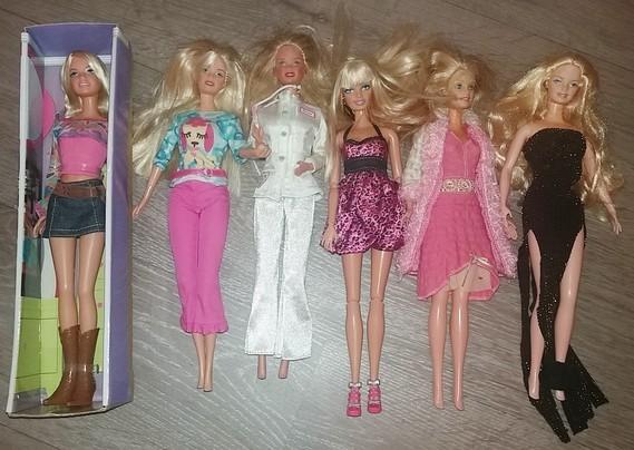 Poupées Barbie 6€ pièce