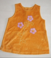Robe Orange H&M 4-6 mois, 68 cm