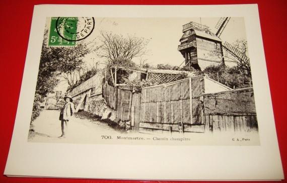 Montmartre - Chemin champêtre 24x18cm