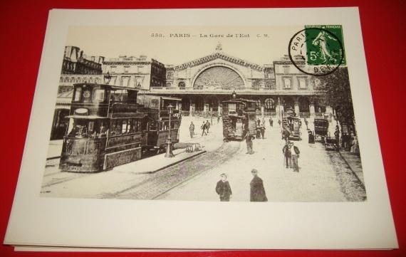 Gare de l'Est 24x18cm