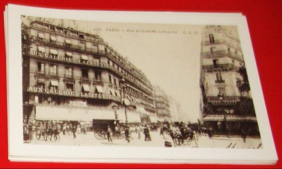 Paris - Galeries Lafayette 10x15cm