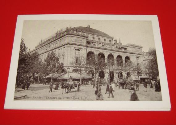 Paris - Le théâtre du Châtelet 10x15cm