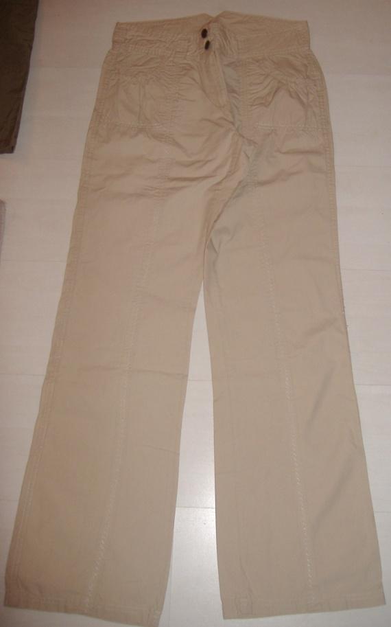 Pantalon Beige T40 - 100% Coton