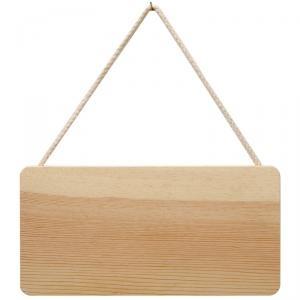 Plaque en bois à suspendre 21 x 11 cm 8 euros décorée 3 dispos