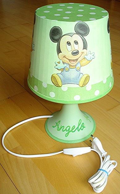 lampe de chevet mickey baby