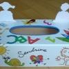 boite à mouchoirs école cadeau pour une maitresse autre face