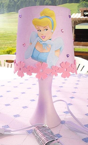 lampe de chevet princesses disney