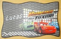 grande plaque de porte CARS