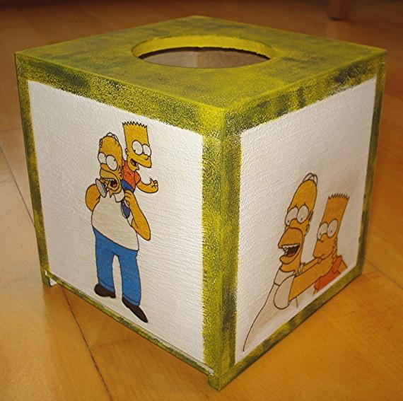 boite à mouchoirs simpson