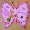 plaque papillon fée clochette