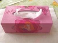 boite à mouchoirs princesses