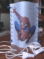 veilleuse spiderman
