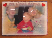 tableau noel 3 enfants