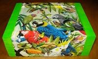 boite à thé perroquets
