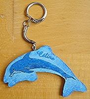 porte clef dauphin
