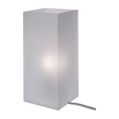 N173 lampe de table en verre : 15 euros décorée.