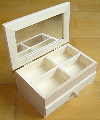 n182 belle boite bijoux avec tiroir et compartiments 10. Black Bedroom Furniture Sets. Home Design Ideas