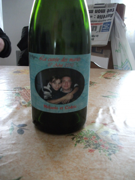 bouteilles champagnes
