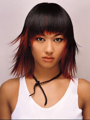 coiffure couleur noir #4