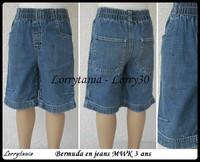 3A bermuda jeans MWK  1,50 €