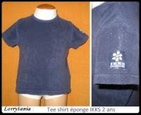 2A T shirt marine IKKS 3 €