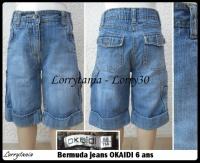 6A Bermuda OKAIDI 5 € jeans