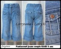 5A Pantacourt KIABI 5 € jeans