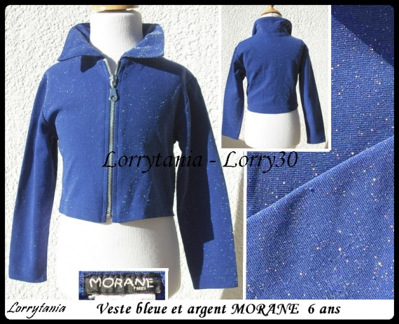 6A Veste bleue MORANE 5 €