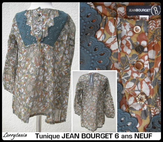 6A Tunique JEAN BOURGET 21 € Neuf