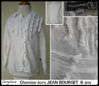 6A Chemise JEAN BOURGET 12 €