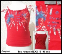5A Top rouge MEXX 7 €