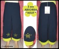 2A Pantalon ABSORBA NEUF 4 €