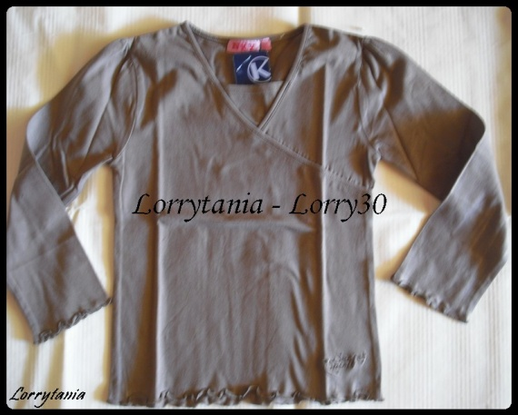 6A Tshirt ML marron NKY NEUF 3 €