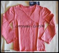 6A Tshirt ML rose NKY NEUF 3 €