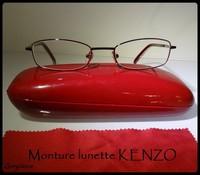 Lunette rouge KENZO