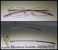 Lunette rose ARMANI