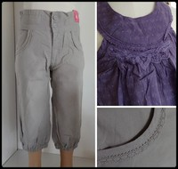 4A Ensemble 2P KID KANAI 10 € NEUF tunique violette pantacourt