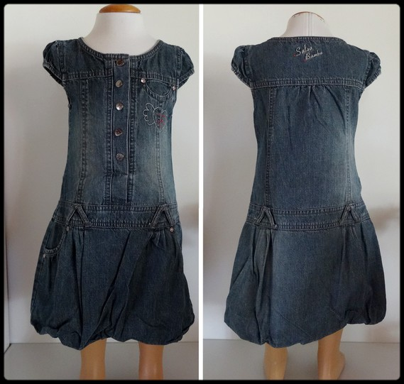 3A robe jeans SALSO BAMBA 5 €
