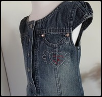 3A robe jeans SALSO BAMBA 2