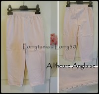 6A Legging 4 € court A L'HEURE ANGLAISE rose