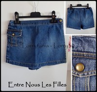 6A Jupe short 4 € ENLF jean